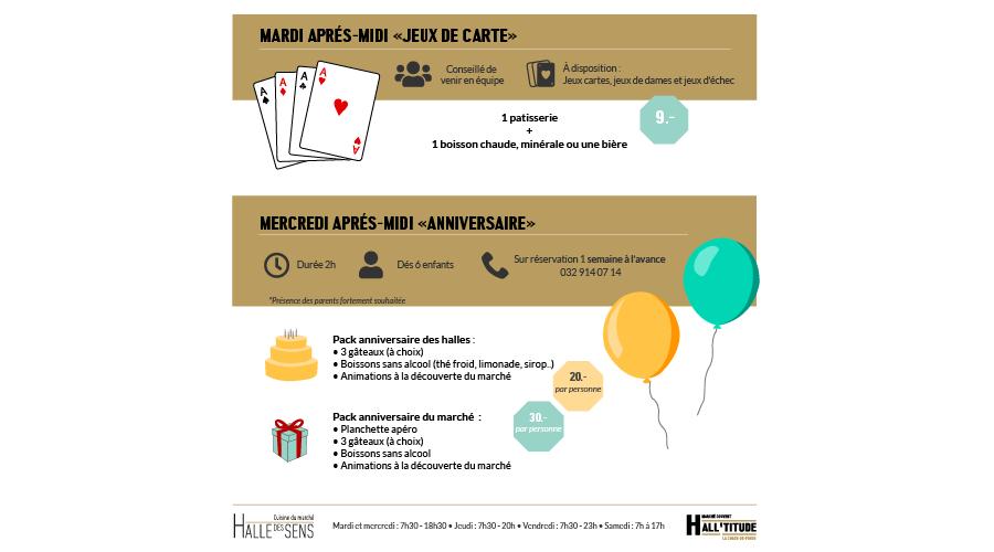 Halltitude Market : anniversaire + Jeux de cartes